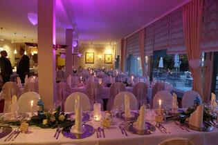 Restaurant Hochzeit mit Seeblick Seeterrasse