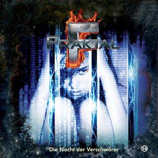 CD-Cover Fraktal - Folge 10 - Nacht der Verschwörer