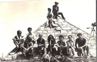 Pyramide de la source du Nil au Burundi
