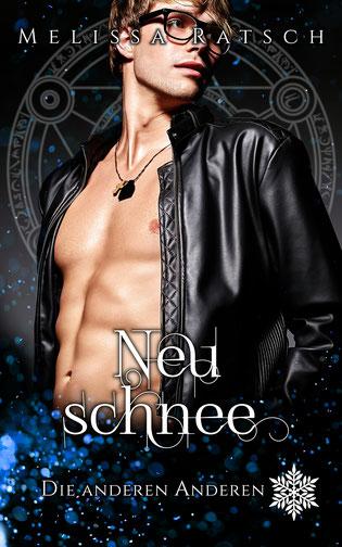 """Buchcoverbild """"Neuschnee"""", dem siebste Teil der Romantik-Fantasy-Reihe """"Die anderen Anderen"""""""