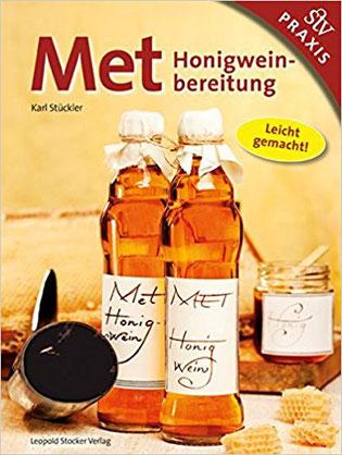 Buchcover mit Honigmet