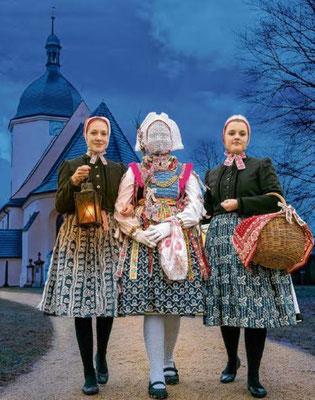Schleifer Christkind Bild: Evangelische Kirchgemeinde Schleife (verlinkt)