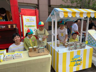 レモネードスタンド 小児がん みんなのレモネードの会 横浜 チャリティー