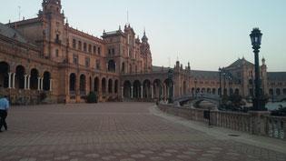 La Plaza de España de Sevilla. Imagen: Tamara Machuca