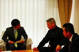 具体的な農業プランについても提案されたJA岡山中央会 堀川会長