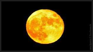 Mondaufgang am Strand von Pepe  (7.11.2014-18:35Uhr/Vollmond 100%)