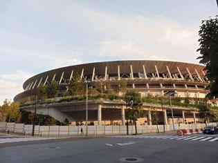 オリンピック予定の東京国立競技場です!