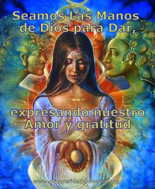 DAR ES EL MEJOR REGALO - SEAMOS LAS MANOS DE DIOS PARA DAR Y EXPRESAR NUESTRO AMOR Y GRATITUD - PROSPERIDAD UNIVERSAL-www.prosperidaduniversal.org