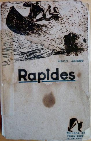 JAISSE, Rapides, L'équipage, 1932 (la Bibli du Canoe)