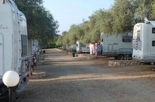 Area attrezzata camper caravan Alghero-Paradise Park