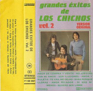 grandes éxitos de LOS CHICHOS/ Vol. 2