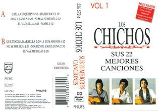 LOS CHICHOS SUS 22 MEJORES CANCIONES  VOL 1