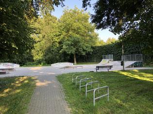 Unter Beteiligung von Jugendlichen entstanden und häufig gut besucht: Der Skateplatz am Ellerbruchtunnel - Foto: SJR