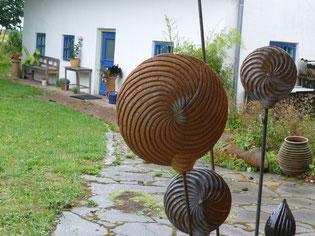 Keramik Auf der Spek, Regen