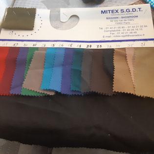 tissu popeline pour doublure de poche