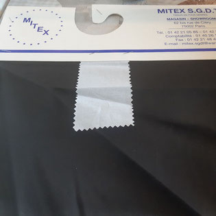 grossiste de tissu pour masque en popeline