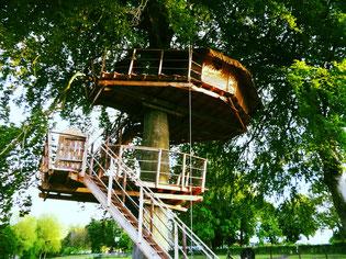 cabane romantique insolite dans les arbres