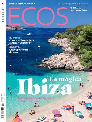 "Ecos Spanisch lernen 11&12/2020 ""La mágica Ibiza"" Sprachmagazin"