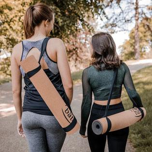 Yogibato Tragegurt für Yogamatten – Universal Trageriemen 100% Baumwolle – Gurt zum Tragen von Sport und Gymnastik Matte – Yoga Mat Carrying Strap – Trageband Yogamatte