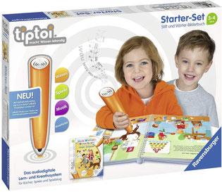 Ravensburger tiptoi Starter-Set Stift und Wörter-Bilderbuch - Lernsystem für Kinder ab 3 Jahren
