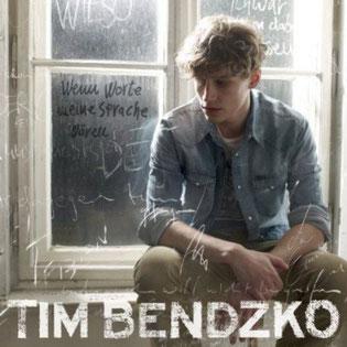 Tim Bendzko 2013 Wenn Worte meine Sprache wären