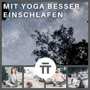 Mit Yoga besser einschlafen - Yoga Online Kurs - Yoga Nidra & Yin Yoga copyright by zenspotting