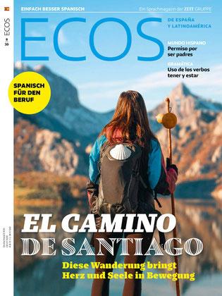 Sprachmagazin Spanisch : Ecos 2020 Spanisch lernen 8 El Camino