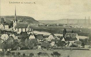 Laudenbach um 1902