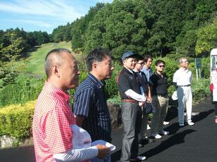 素晴らしい秋晴れのもと、第三回和泉オープンは行われました。