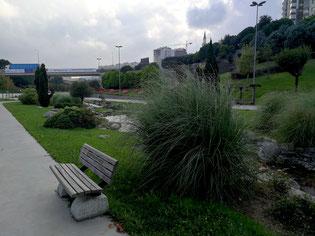 Park in Istanbul Garten