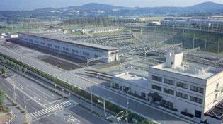 西神車庫 全体有効面積 91,264㎡(東京ドーム2個分)