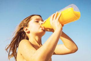 """Selbst gegen den """"gesunden"""" Orangensaft können Sie allergisch sein!"""