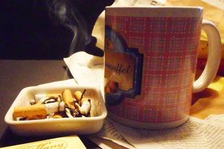 Nicht das Nikotin macht abhängig, sondern die Betäubung durchs Kohlenmonoxyd