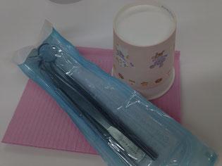 新川崎歯科医院の紙コップ