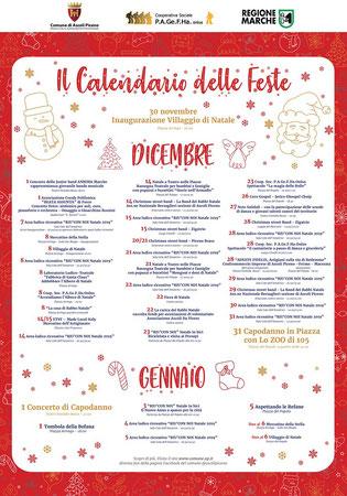 Programma Eventi Natale Ascoli Piceno