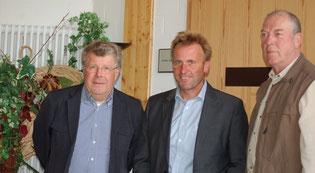 Dr. Klaus Lambrecht (Naturlandstiftung Schwalm-Eder-Kreis), Referent Karl-Heinrich Claus, Gerhard Becker