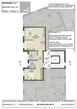 Lage Wohnung / Gewerbe 2.1.2