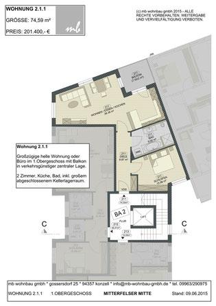 Lage Wohnung / Gewerbe 2.1.1