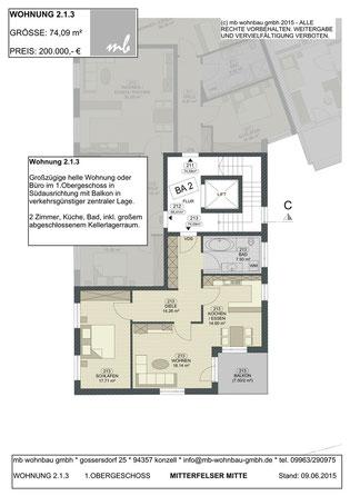 Lage Wohnung / Gewerbe 2.1.3