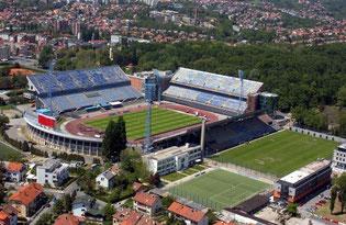 Стадион Максимир, Загреб, Хорватия.