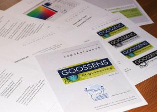 Logo-Relaunch, Handout