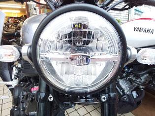 XSR155LEDヘッドライト
