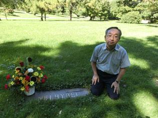 2016年9月24日、ネリベルの誕生日に墓参り。