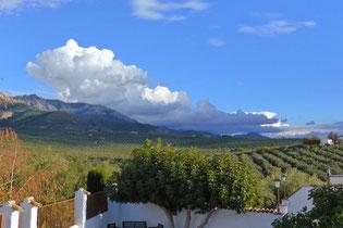 Sierra Cazorla from Cortijo los Abedules