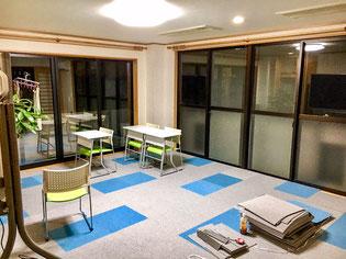 3F教室・自習室増床工事中