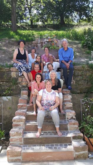 Leitung der Ausbildung: Barbara Fischer-Bartelmann, Gast-Trainer Arnoud van Buuren, Organisation Petra Fuchs