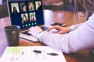 オンライン企業内研修のイメージ画像