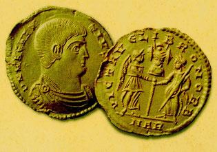 ein schönes Geld hatten die Römer damals