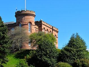 die alte Burg über Inverness