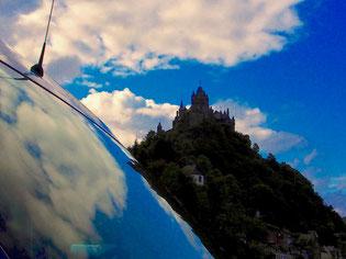 eine markante Burg-Silouette